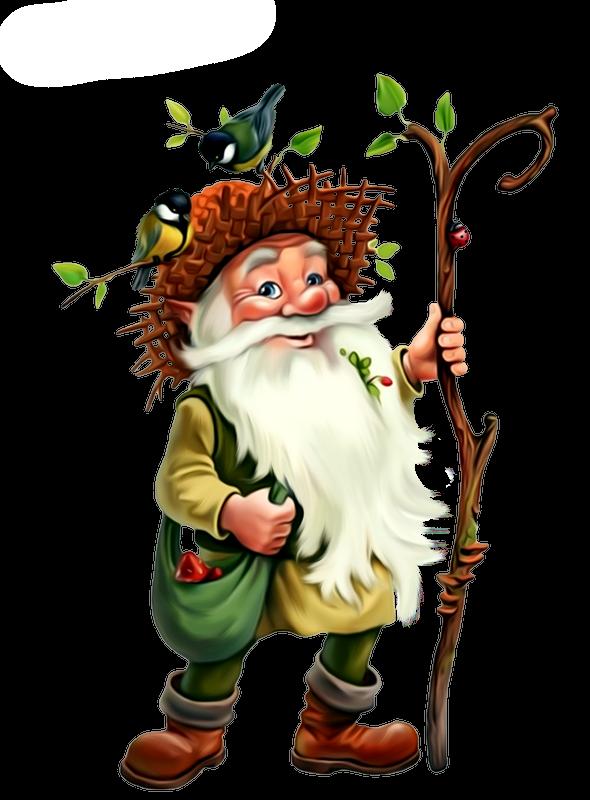 Рисунок картинка лесовичка