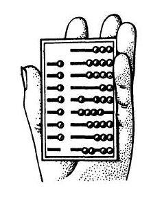 Абак. Римский ручной абак