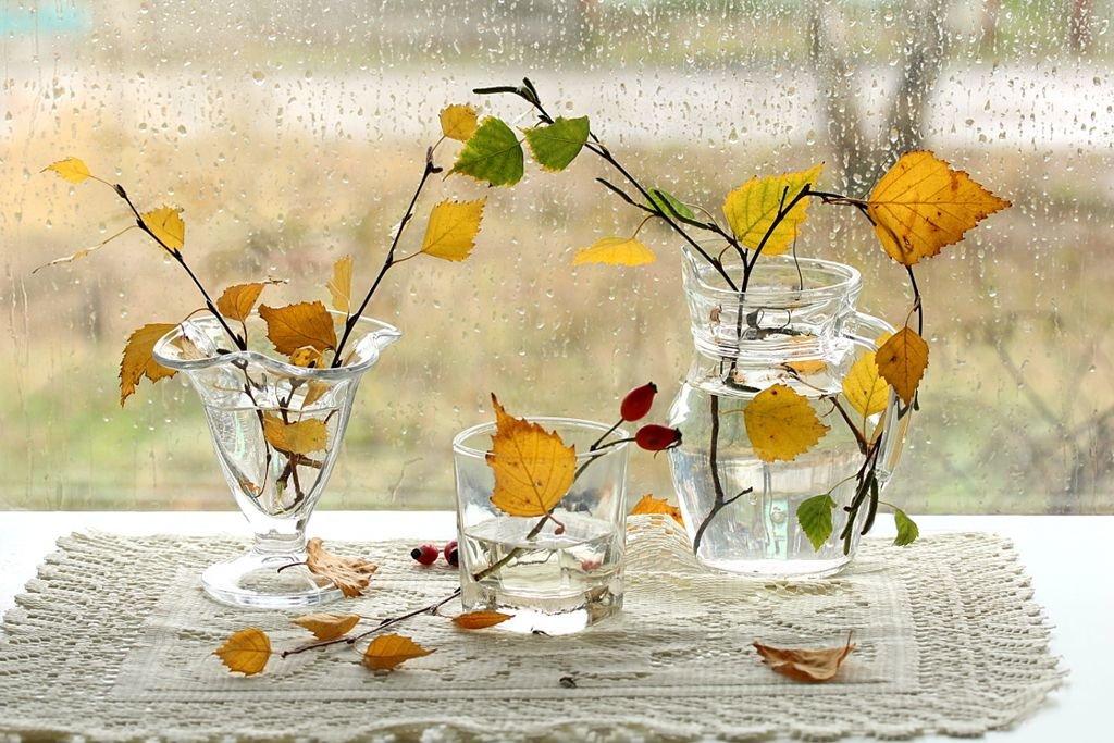 Картинки поцелуи, открытки с осенними листьями доброе утро