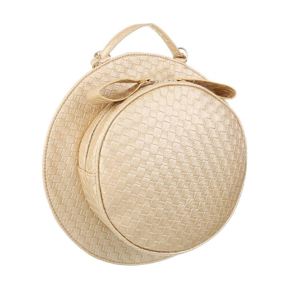 60845c00f121 Наплечная женская сумка круглой формы, сумка-шляпа .» — карточка ...