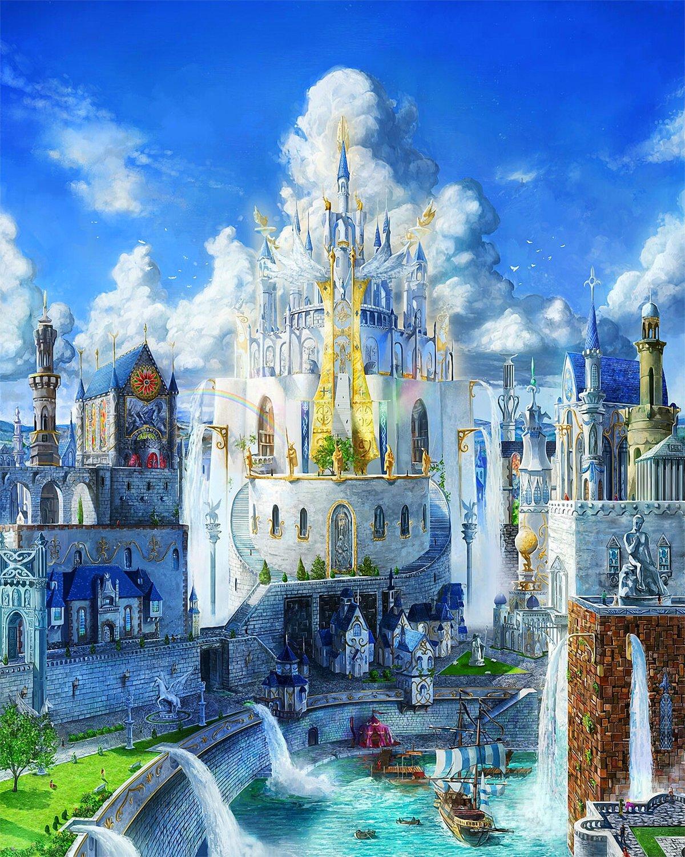 картинки замков королевств сейчас