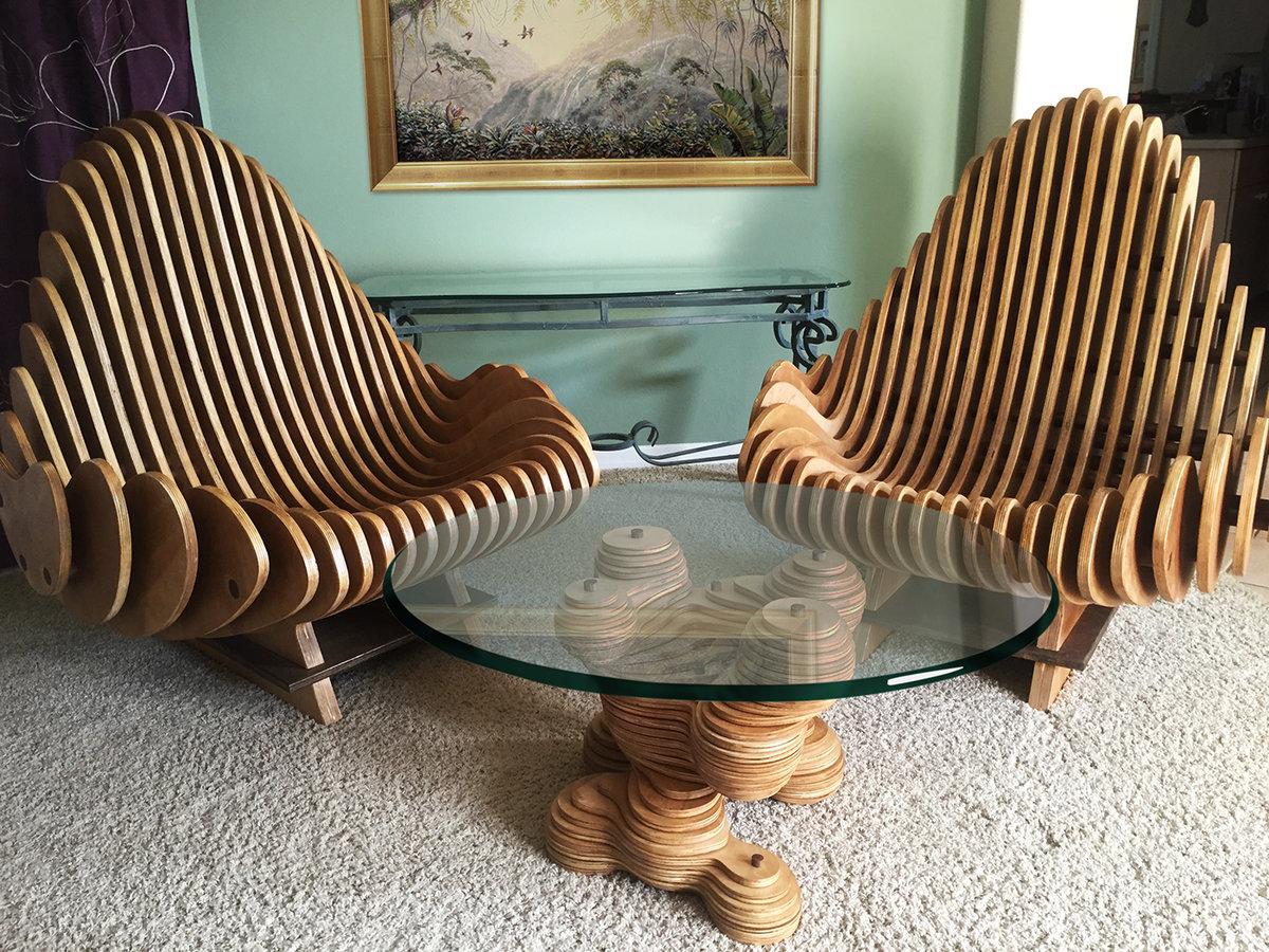 необычные стулья фото своими руками зиму прибрежная