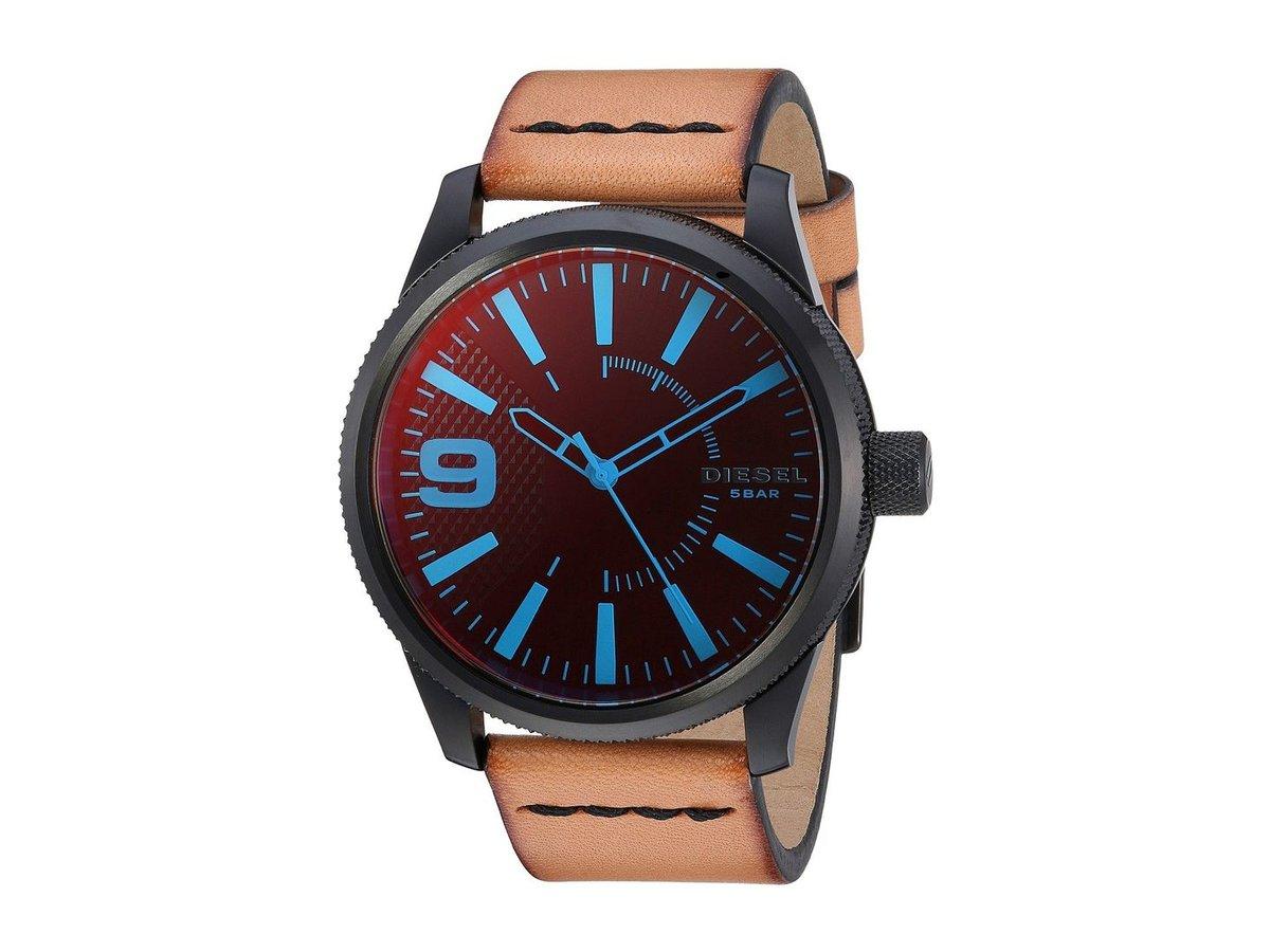 Новый diesel 5 бар dz ультра вес хронограф, синий циферблат, спортивные мужские часы.