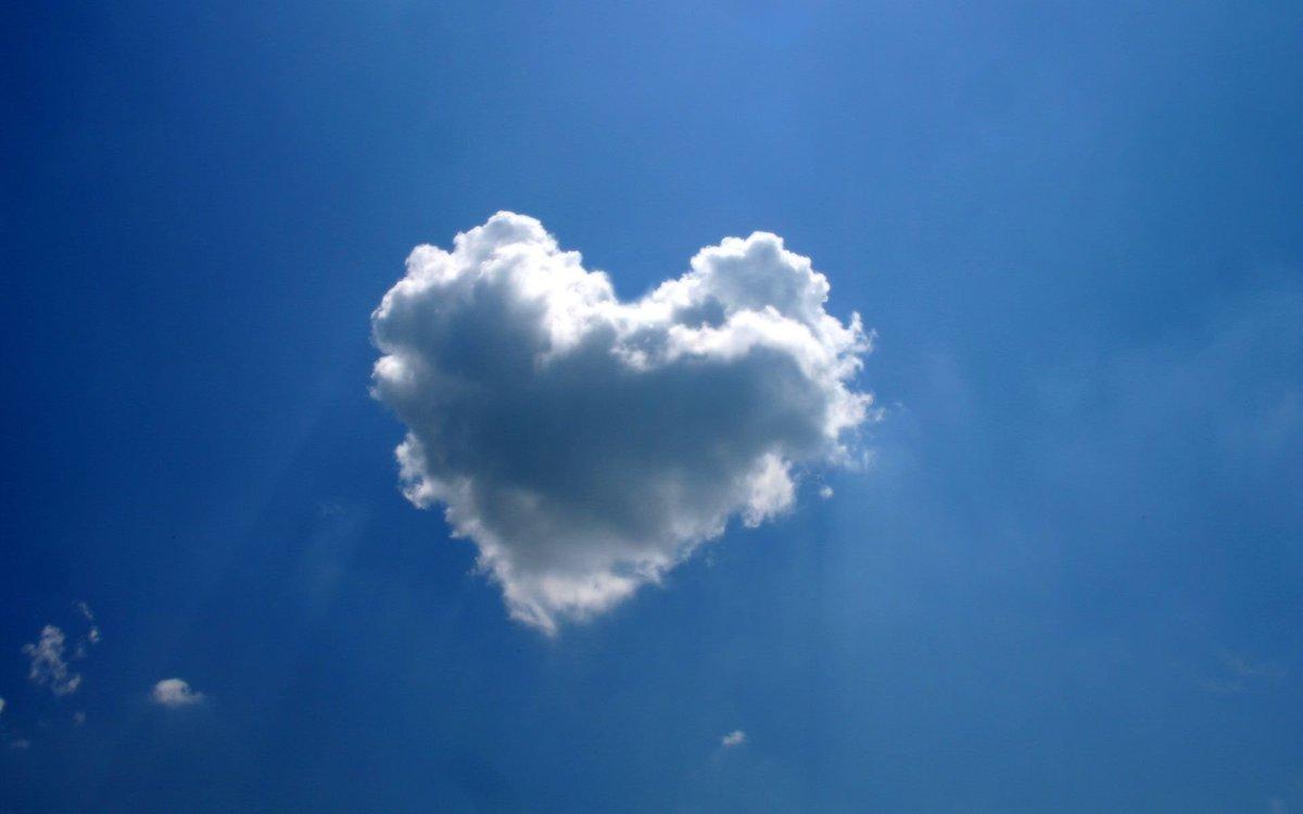 Открытки с красивыми облаками, поздравление