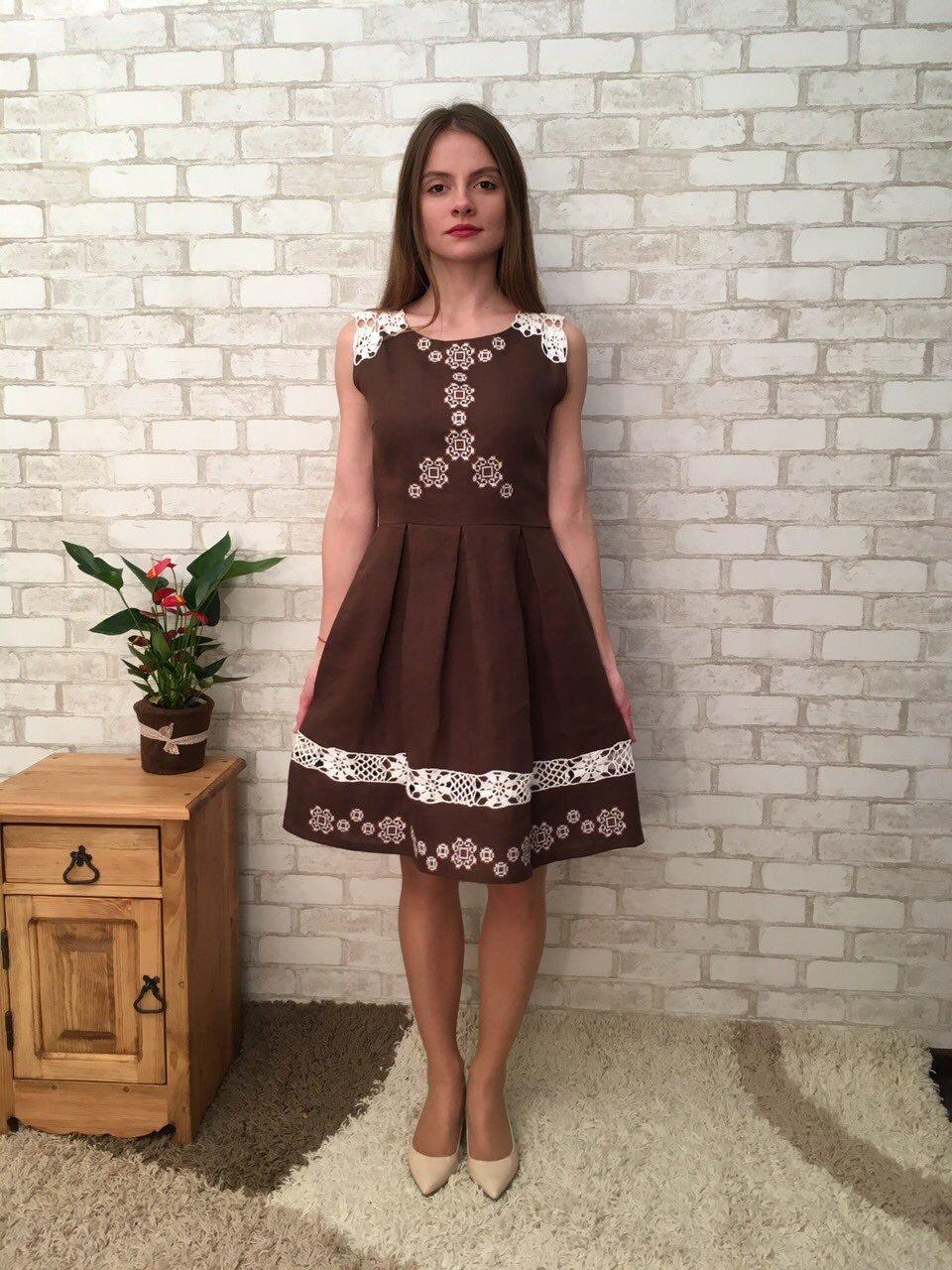 abe481e7de741fc Льняное платье: 100+ нежных образов, фасонов, моделей, новинок на фото.