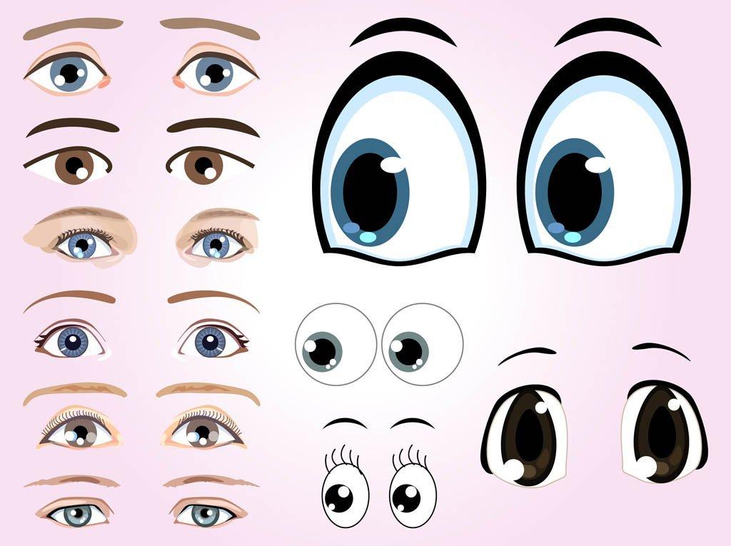глазки домиком картинки стоит лишь