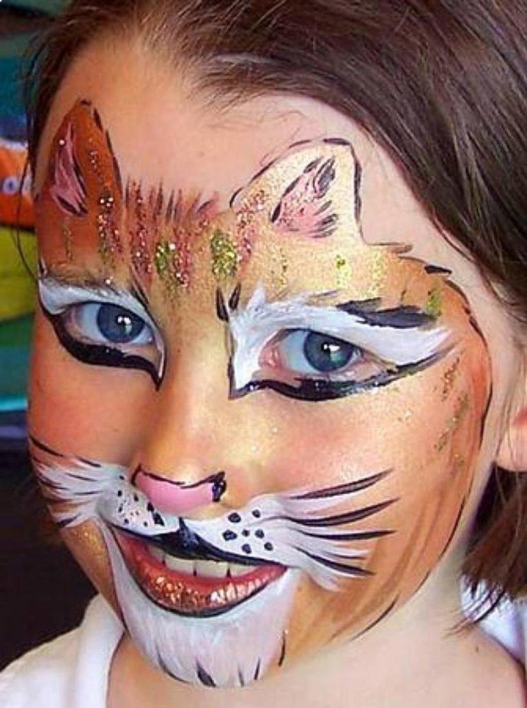 фото картинки нарисовать красками на лице ощущение, что батюшки