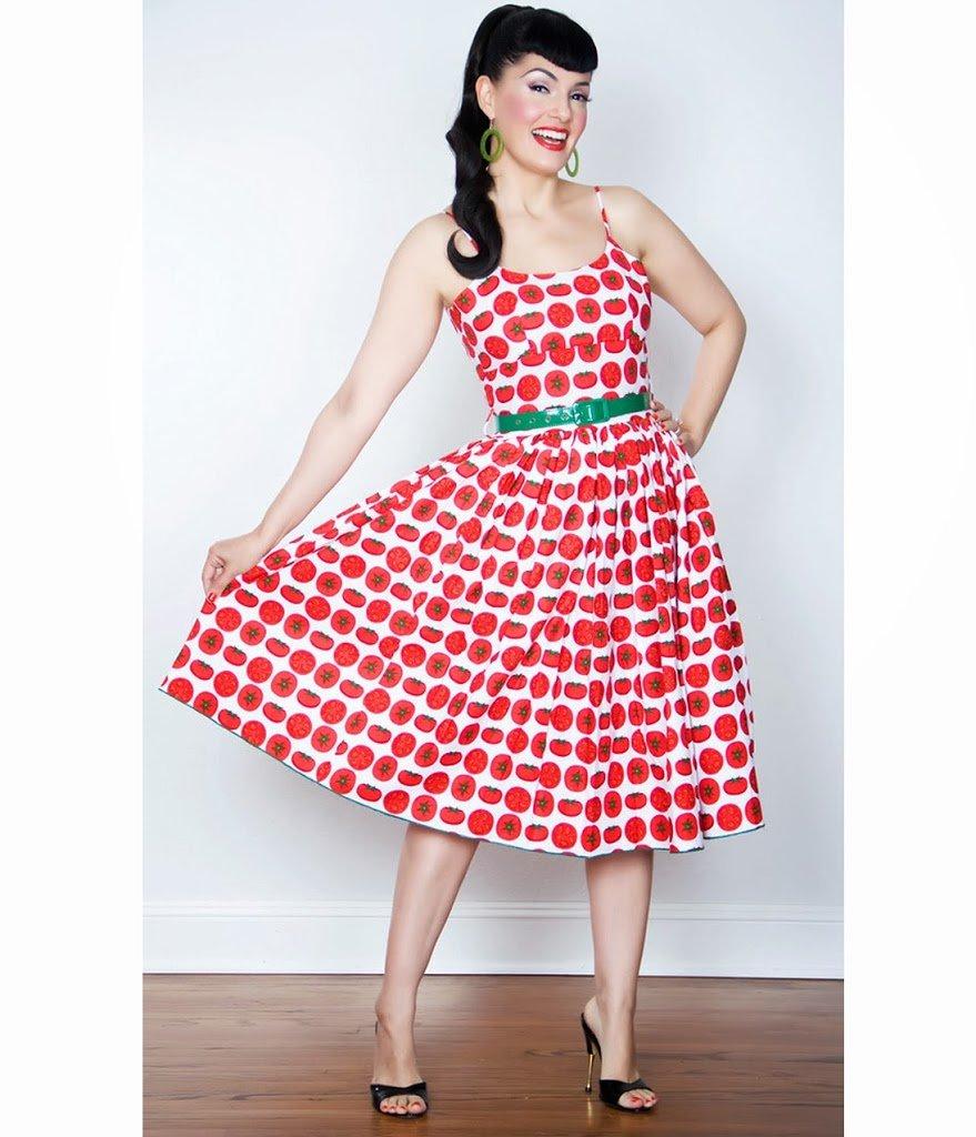 Картинка платья в стиле стиляг