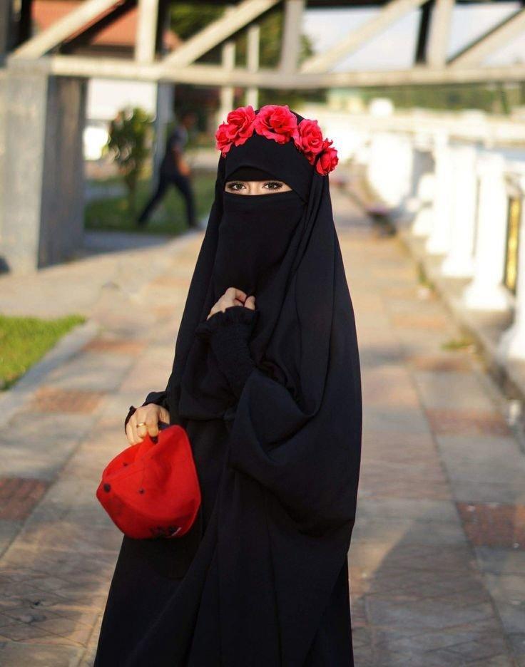 Картинки для мусульманок в никабе, тебя