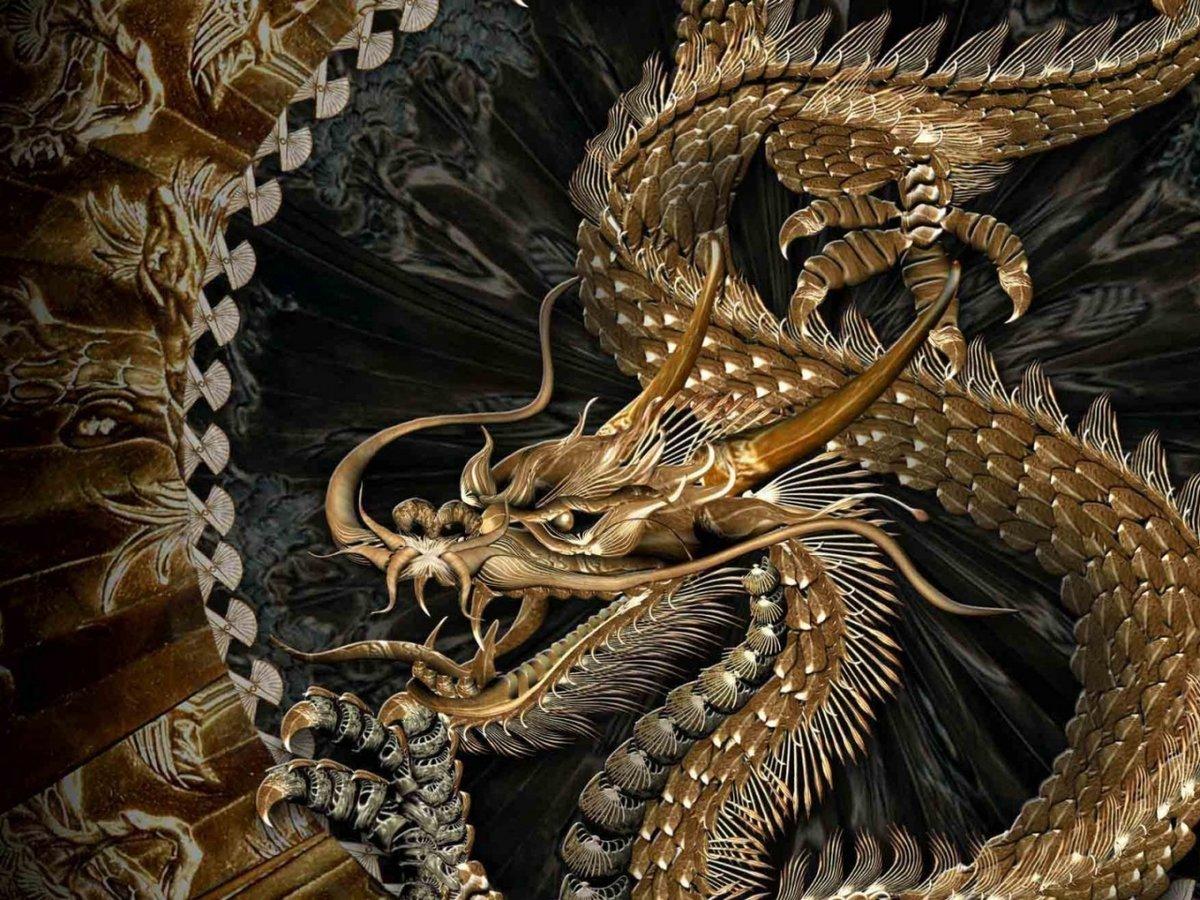 Картинки с китайскими драконами похоронил его
