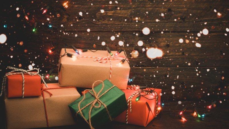 праздничные коробки