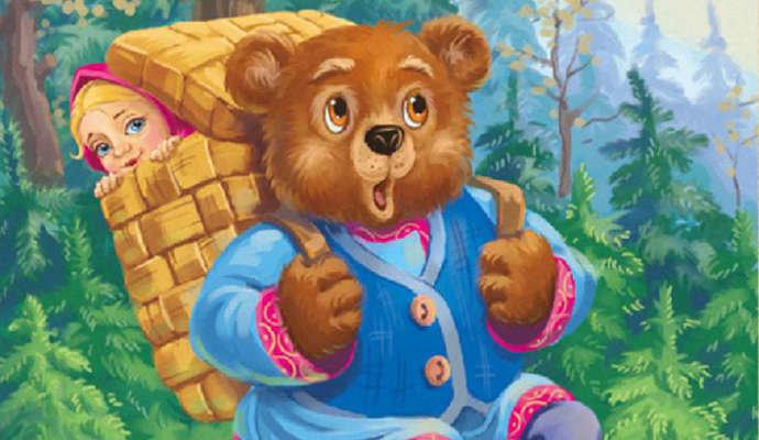 Сказка маша и медведь картинки анимации