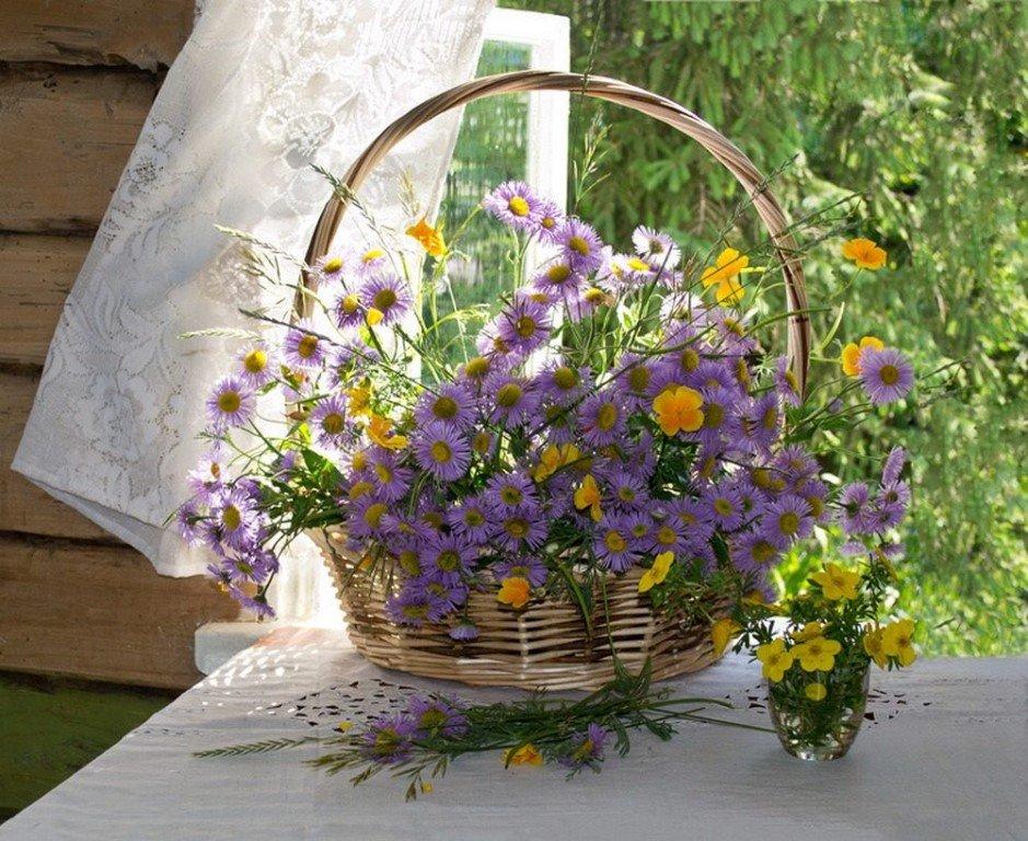 такой услуги полевые цветы в корзинке картинка время наступил