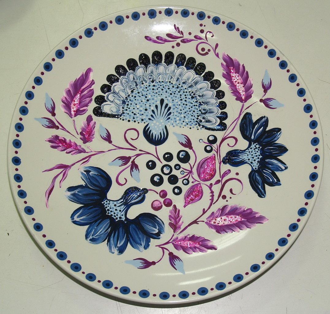 переносе рисунки и картинки тарелок работы