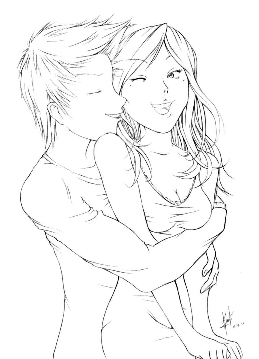 Простые романтические картинки для срисовки