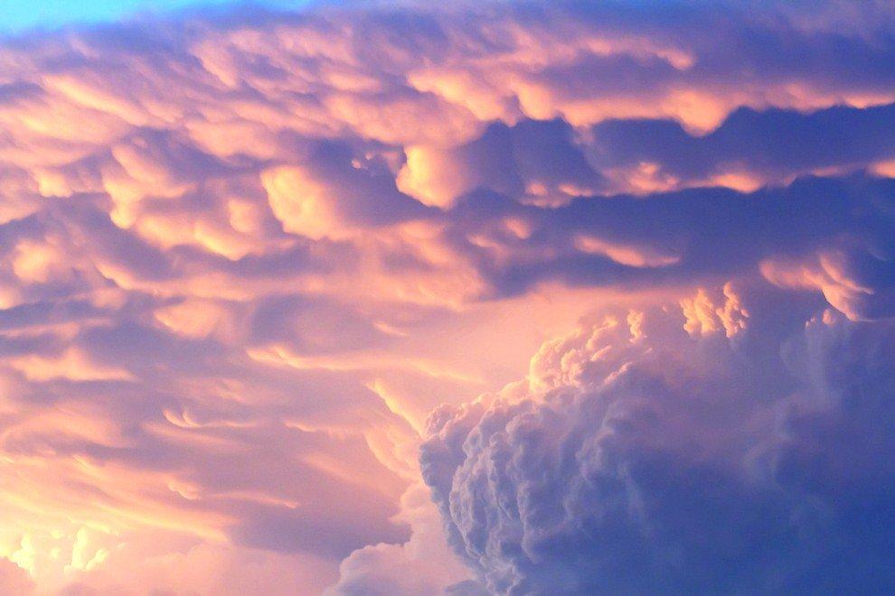 Багряные облака