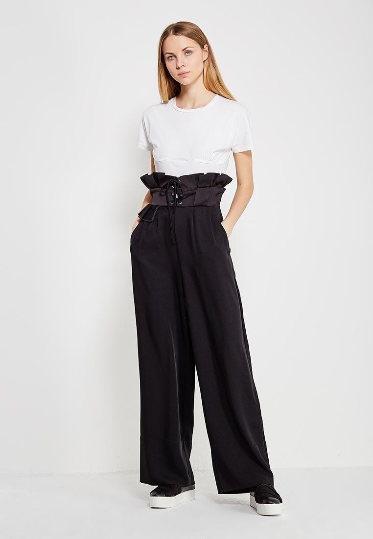 брюки +с высокой талией купить