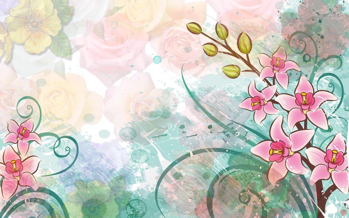 Рисунок на обложку открытки