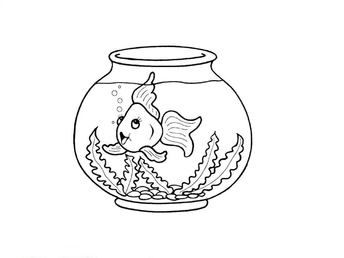 рыбки в аквариуме картинки распечатать спальня стиле