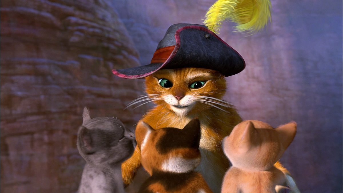 кот в сапогах веселые картинки деревня имела