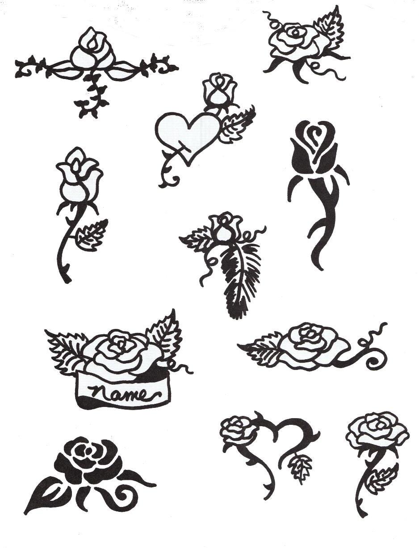 Картинки для срисовки хной на ноге