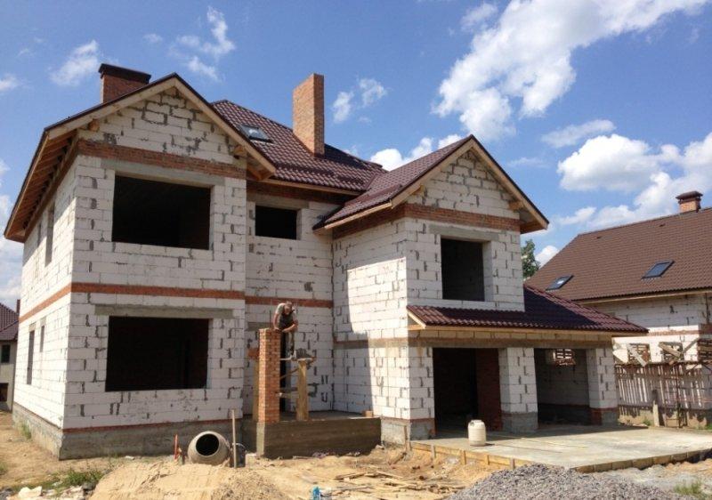 стоимость строительства дома из газоблока