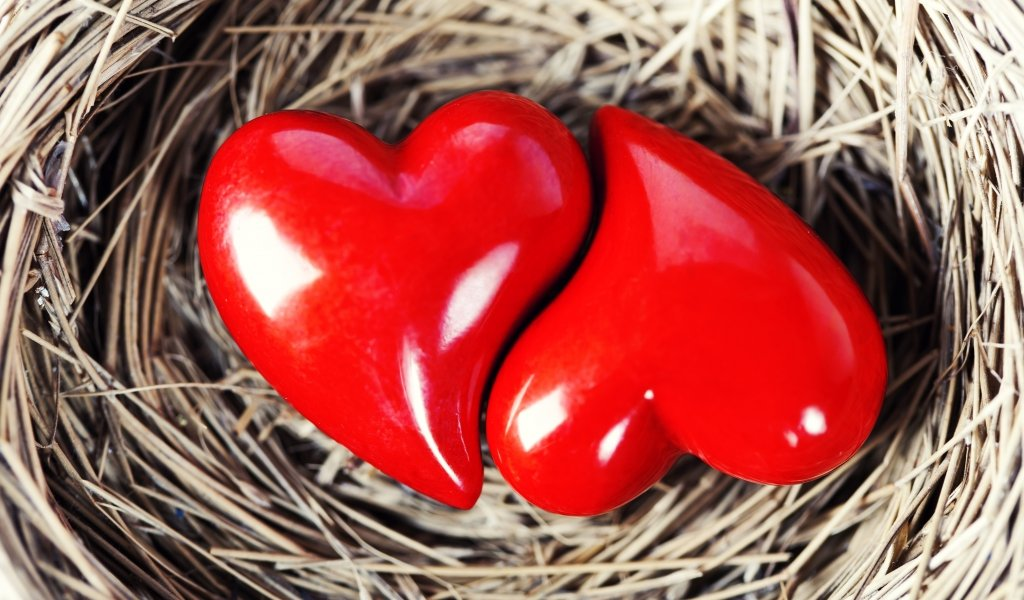 Картинки в виде сердечек