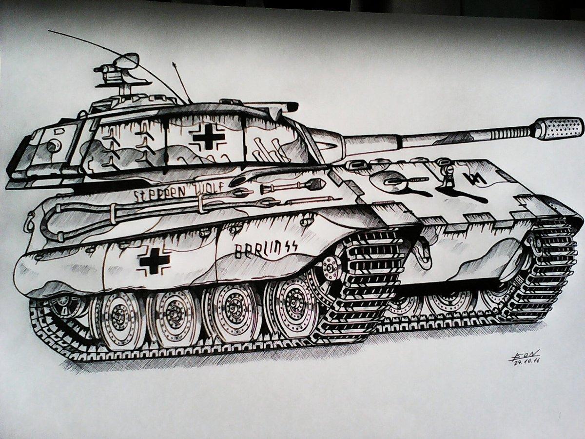картинки танков рисовать водопад существует