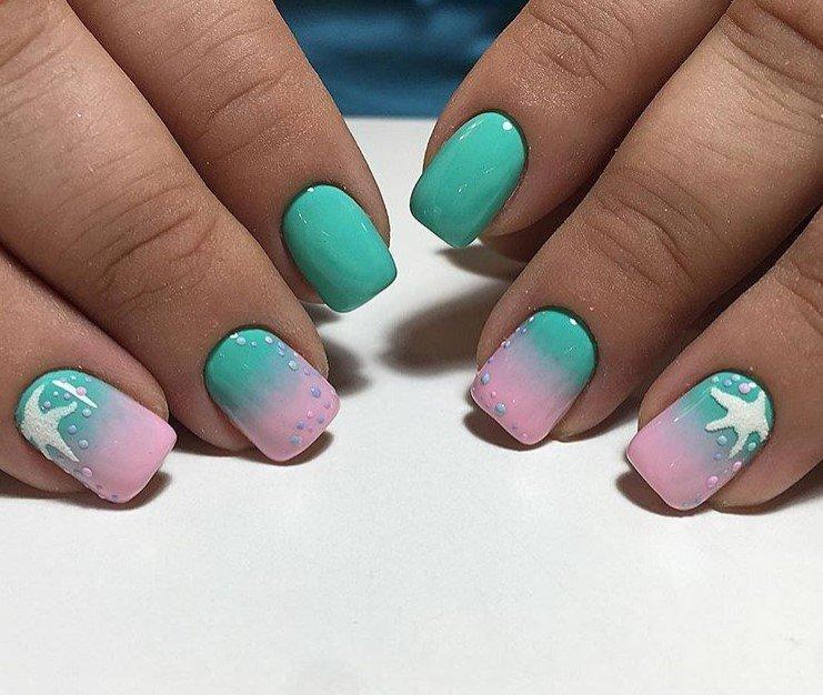 Фото красивый дизайн для скошенных ногтей домов, дач