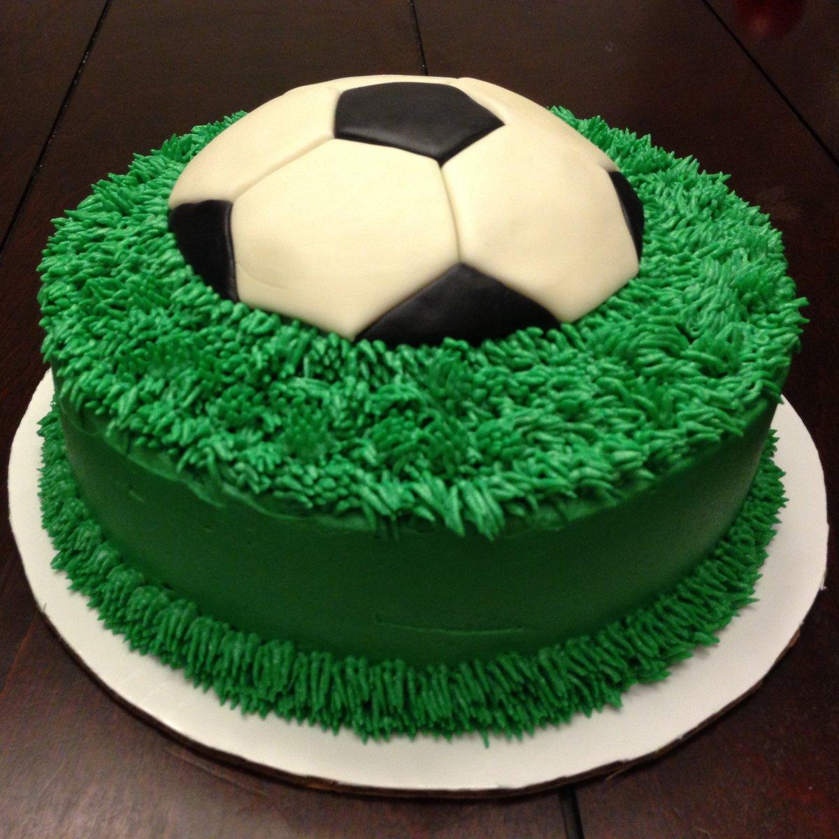 Торт с футболом картинки, днем рождения