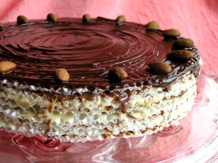 рецепт вафельного торта фото карта казарма