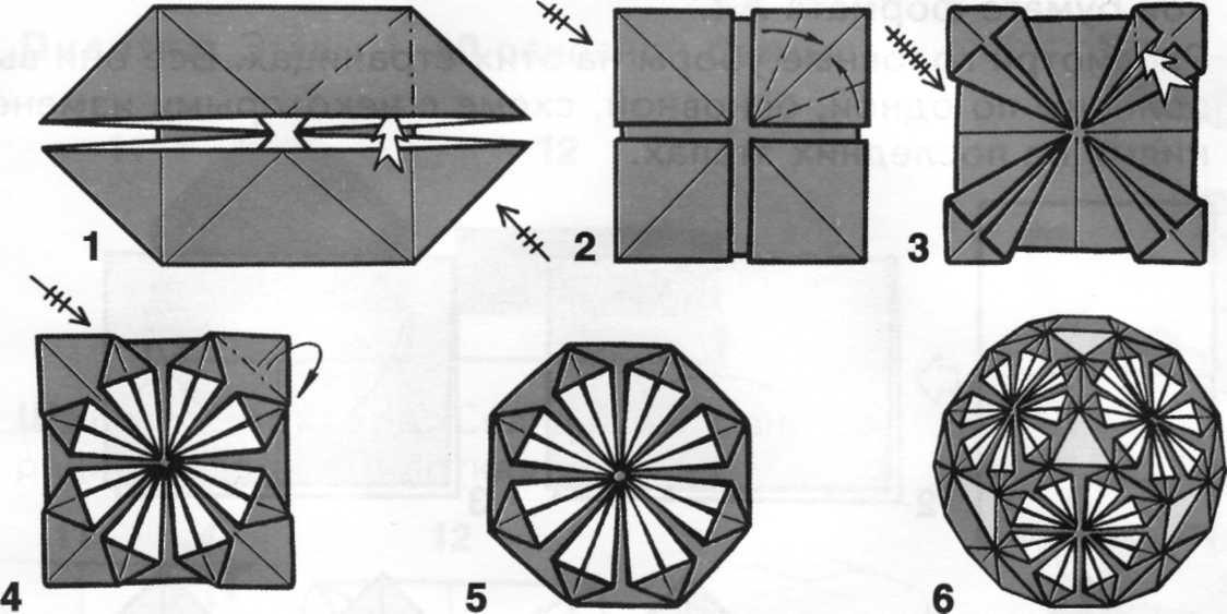 аппаратная оригами схема сборки магического шара в картинках настоящем джитендра