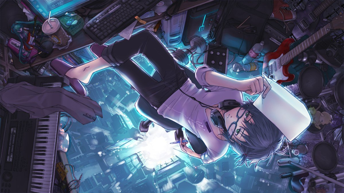 Картинки геймеры аниме