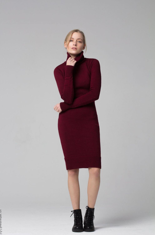 06ab412bf1fe Бордовое платье  100 модных новинок, тенденций и трендов на фото. Красивое бордовое  платье