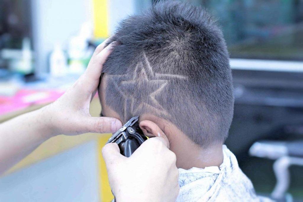 Рисунки на голове для мальчиков фото
