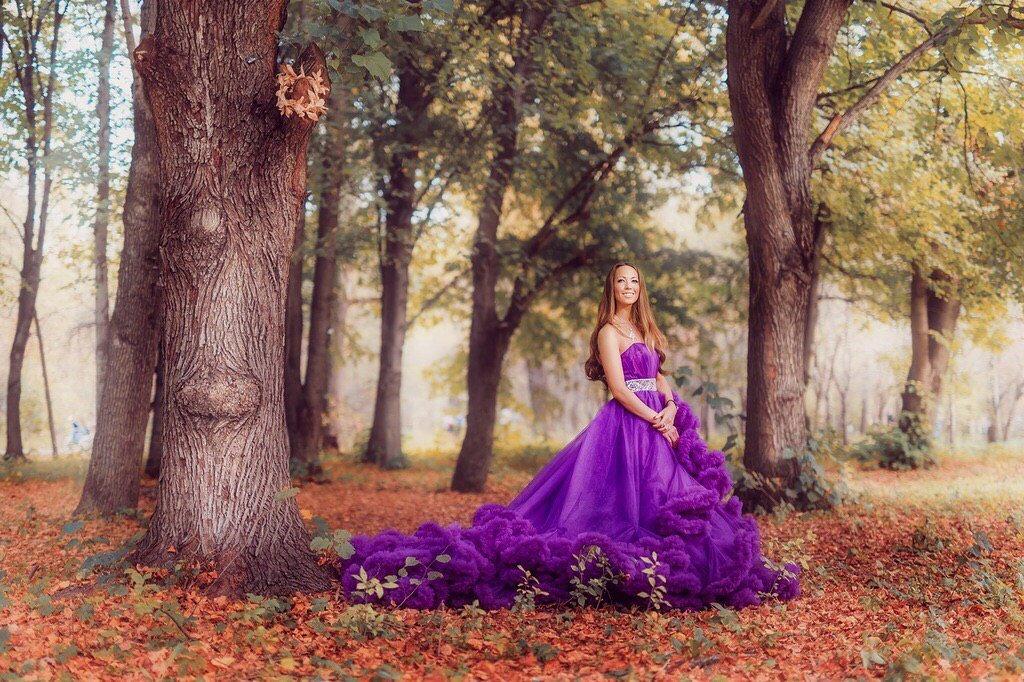 Как красиво сфотографироваться в пышном платье