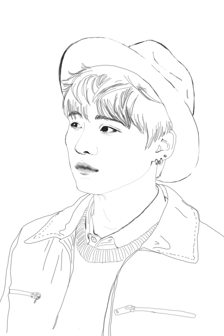 kpop coloring pages Bts Kpop Coloring Pages Related Keywords   Bts Kpop Coloring Pages  kpop coloring pages