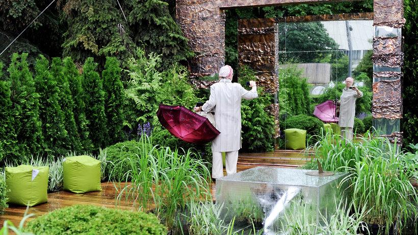 Moscow flower show: цветочные платья и чудеса ландшафтного д