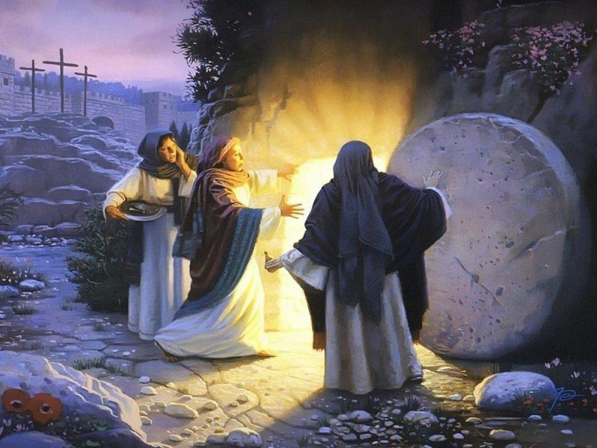 Картинки христианские с пасхой, розы для