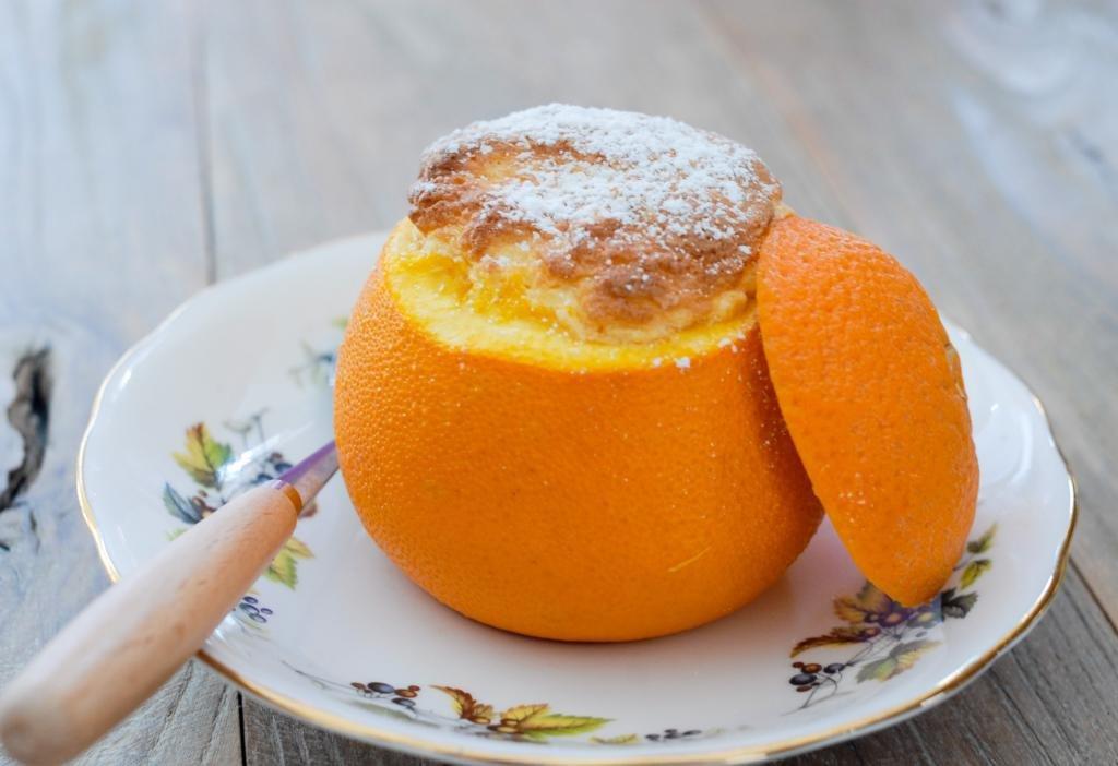 апельсиновые десерты рецепты с фото очень