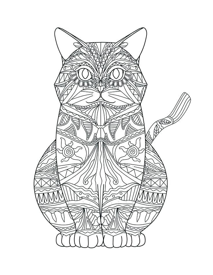 «Раскраска - кот антистресс, зенарт» — карточка ...