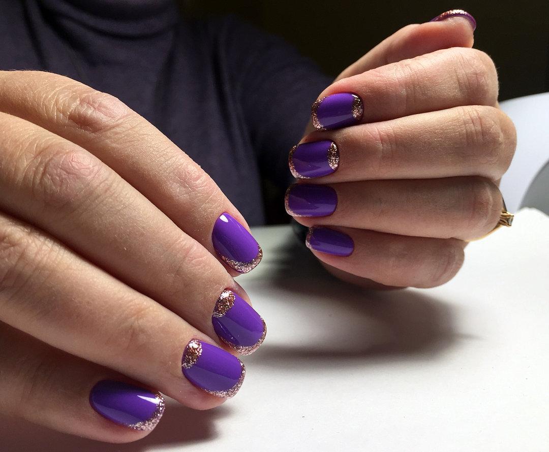 Ногти Фуксия Дизайн Фото