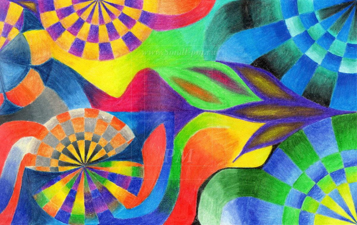 Картинки жанра абстракция