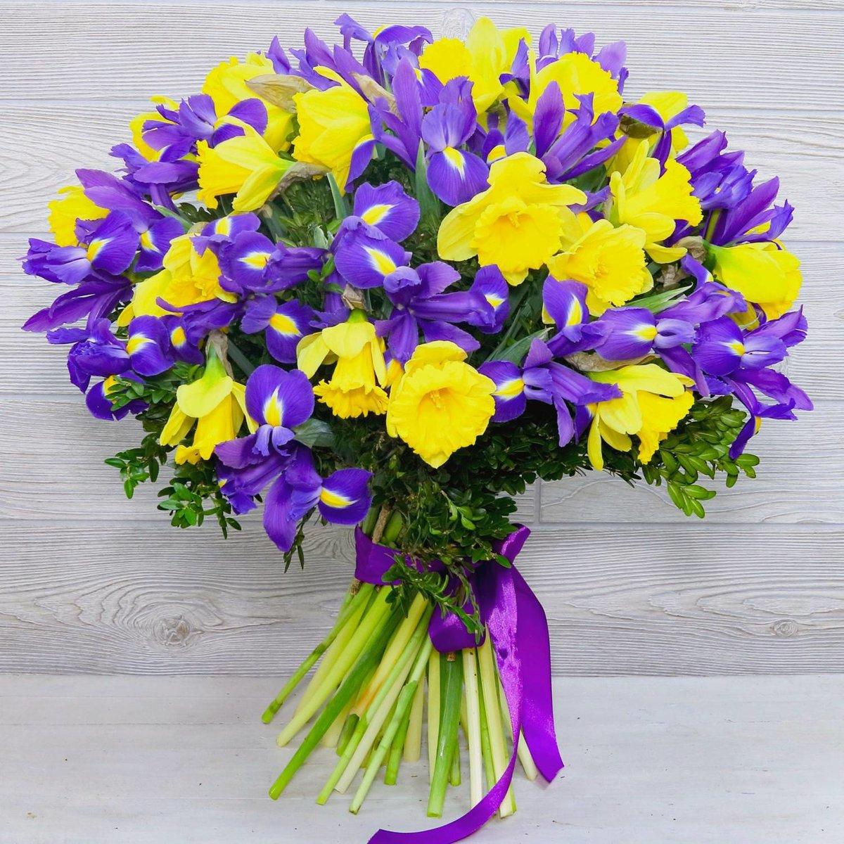 Цветов санкт-петербургу, салон букетов ирисов