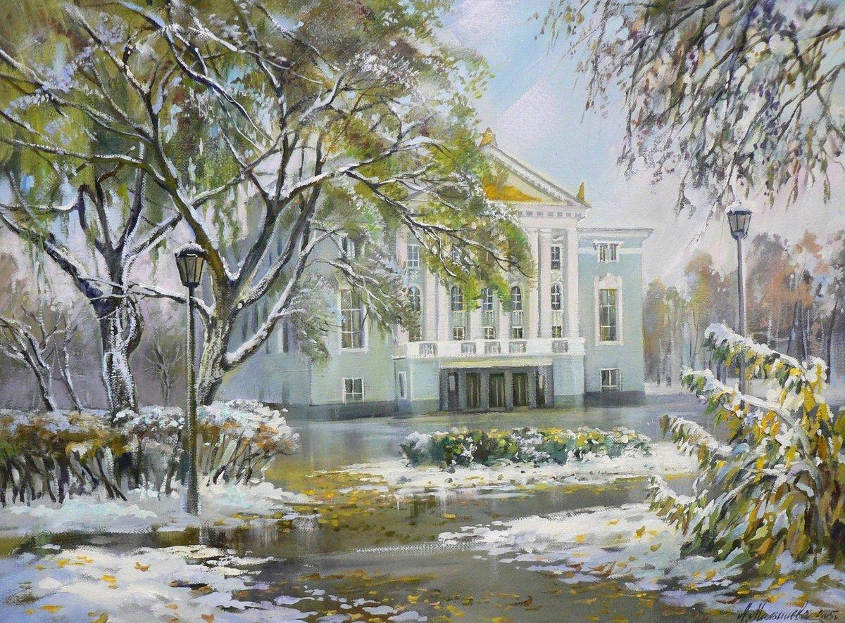Пермь в картинах художников