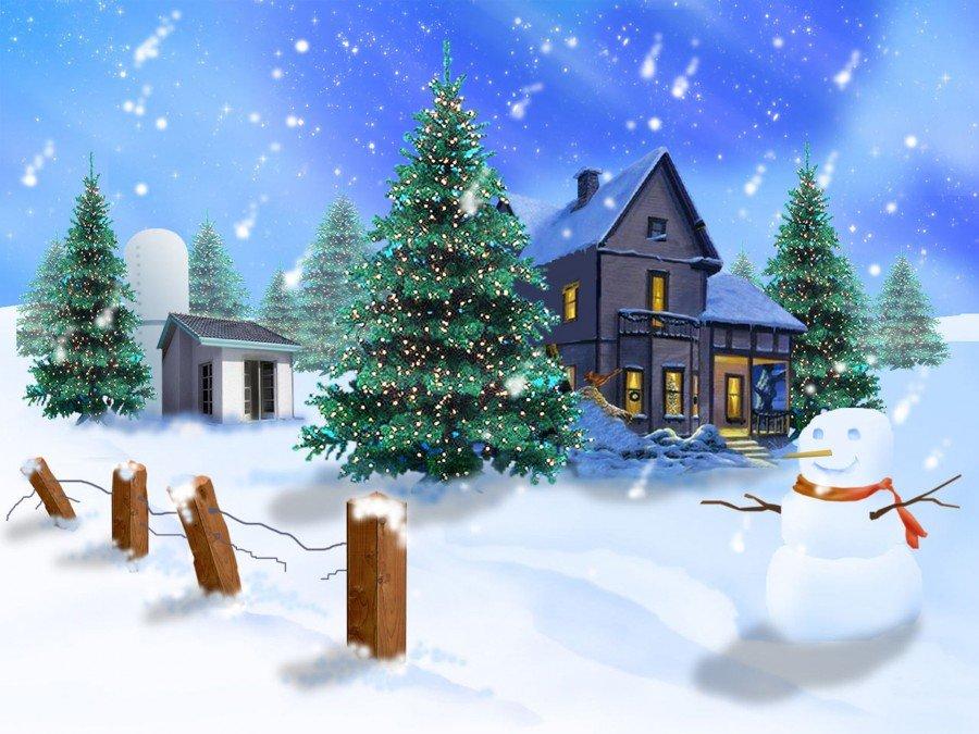 Открытки с новым годом и зимой