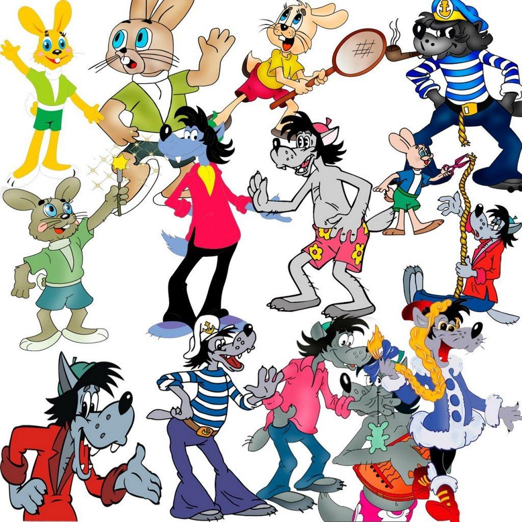 Любимые персонажи мультиков