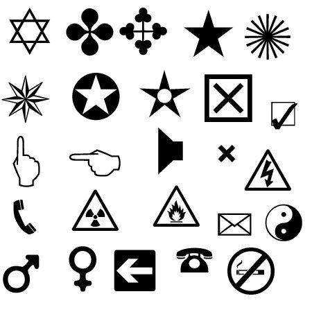Картинки символы прикольные