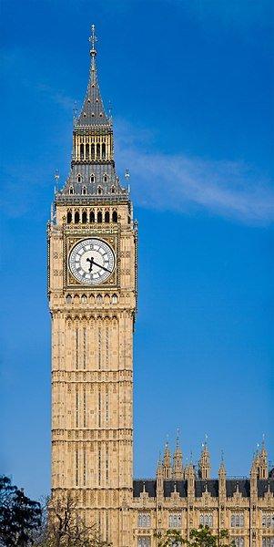 31 мая 1859 года запущены в работу часы, установленные на знаменитой лондонской башне Биг-Бен