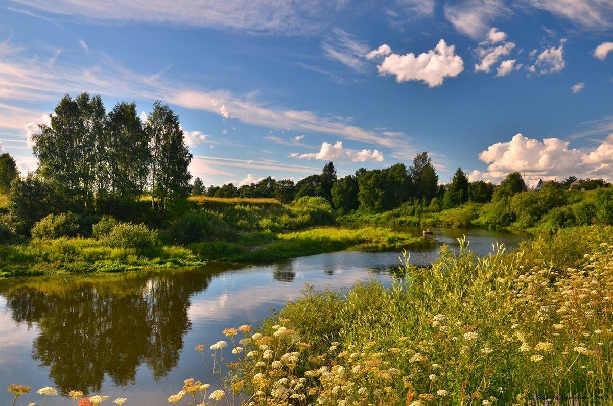 смотреть фото природа реки лето